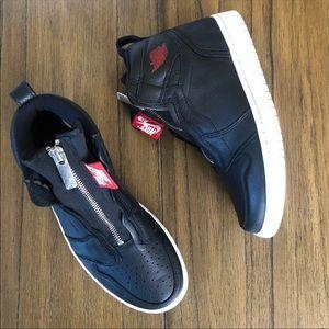 Nike Air Jordan 1 high top black sneakers shoes